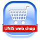 UNIS web shop